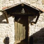 Puerta Exterior Casa Rural Santiago Pontones