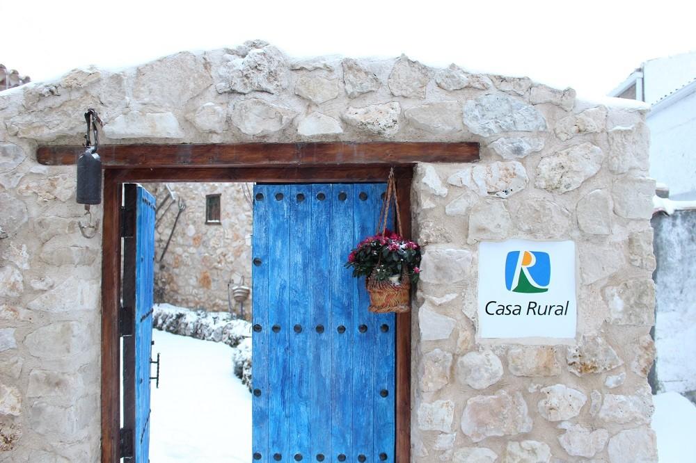 Por fin la nieve la casa serrana - Casa rural pontones ...